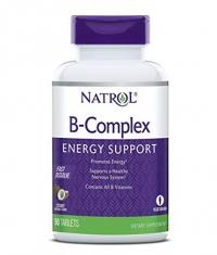 NATROL B-Complex /Fast Disolve/ 90 Tabs.