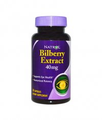 NATROL Bilberry Extract 40mg. / 60 Caps.