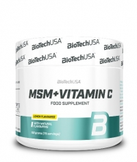 BIOTECH USA MSM with Vitamin C 150g.