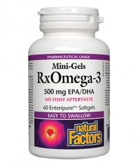 NATURAL FACTORS Omega 3 mini-gels / 60soft