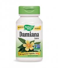 NATURES WAY Damiana Leaves 100 Caps.