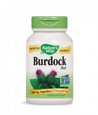 NATURES WAY Burdock Root 100 Caps.