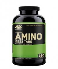 OPTIMUM NUTRITION Superior Amino 2222 / 320 Tabs.