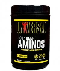 UNIVERSAL 100% Beef Aminos 400 Tabs.