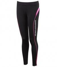 MUSCLE PHARM Ladies Leggings / black-pink