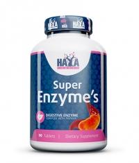 HAYA LABS Super Enzyme Complex / 90tabs.
