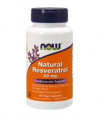NOW Natural resveratrol 50 mg / 60vcaps