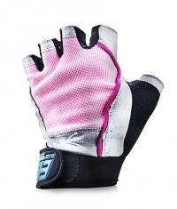 EVERBUILD Pro Ladies Gloves / Grey - Pink