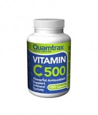 QUAMTRAX NUTRITION Vitamin C 500mg / 100 caps